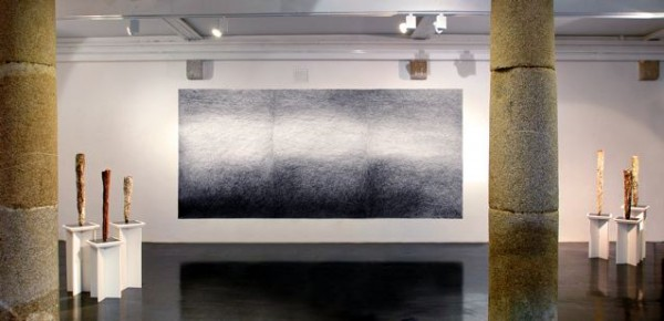 Big Drawing No 9, Wexford Arts Centre, 2007 Ink on paper, 200x450