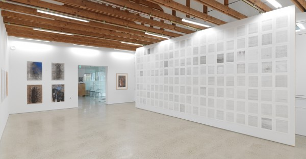 'Schitterend Isolement' exhibition view with my 168 diary drawings wall, Drawing Centre Diepenheim, the Nethetlands, 2014 photograph by Rik Klein Gotink